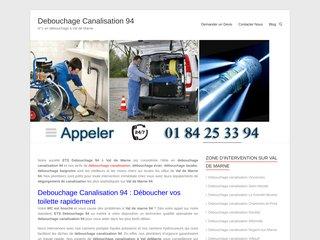 Debouchage Canalisation 94
