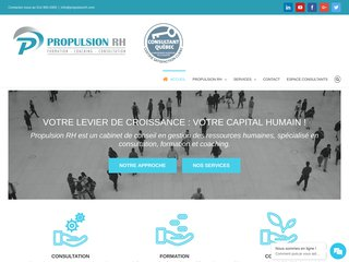 Propulsion RH: Formation Ressources Humaines