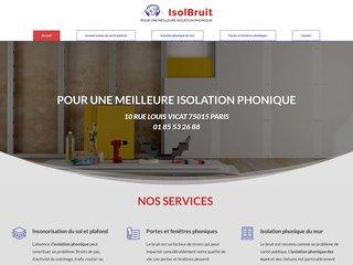 Entreprise d'isolation phonique à Paris