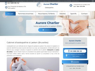 Votre ostéopathe pour femme enceinte à Laeken