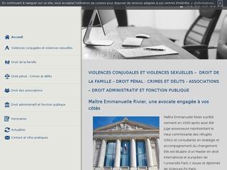 Avocat contre la violence conjugale à Paris