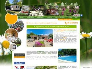 Camping*** de Gourjade à Castres
