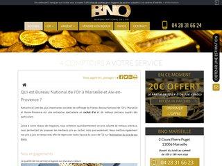 Rachat d'or à Aix en Provence, Bureau National de l'Or