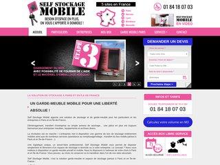 Location Box Paris - Self Stockage Mobile