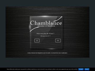 Découvrez notre Domaine et Distillerie Chamblance