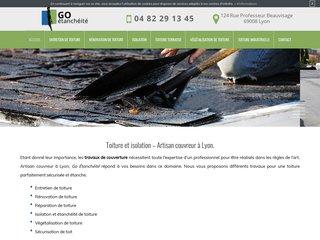 Des travaux de rénovation de toiture à Lyon