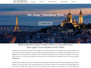 marabout à Paris
