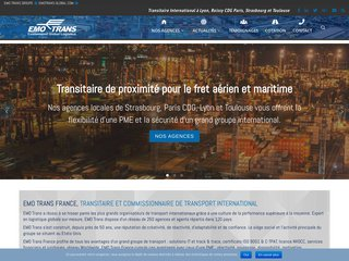 EMOTRANS France, Commissionaire de transport international