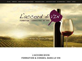Formation et vente de vins