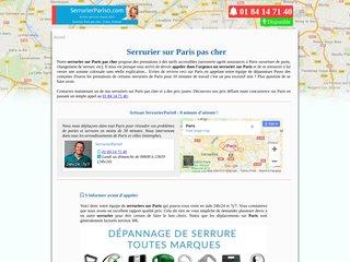 Equipe des serruriers de Paris