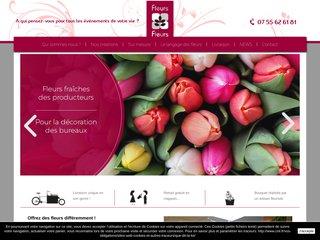 Artisan fleuriste à Lyon