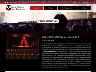 Théâtre à Bordeaux : Café-théâtre des Chartrons