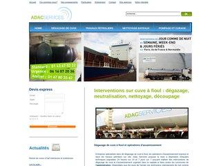 Adac Pompage Hydrocarbures Bateaux Cuves à Fioul