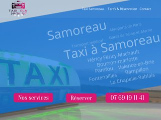 Taxi conventionné à Nangis, Mormant & Samoreau avec Taxi Ela