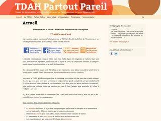 TDAH Partout Pareil