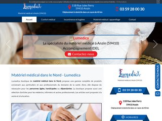 Location de matériel médical dans le 59 : Lumedica