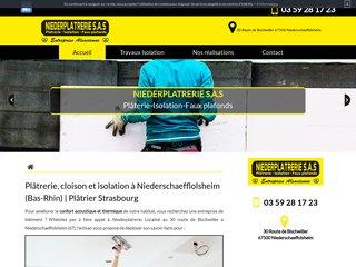 Travaux d'isolation à Strasbourg, Niederplatrerie