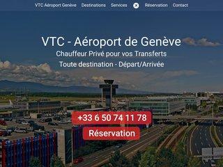 Chauffeur privé VTC Aéroport de Genève | Interlinks