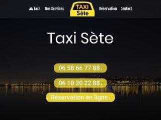 Taxi Sète, une compagnie conventionnée en toute sécurité