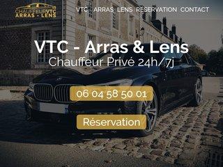 Chauffeur privé VTC Arras Lens - Infini Transport