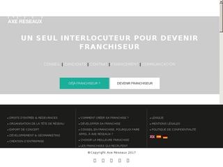 Consultant conseil franchise sur Paris Marseille et Lyon - Axe Réseaux