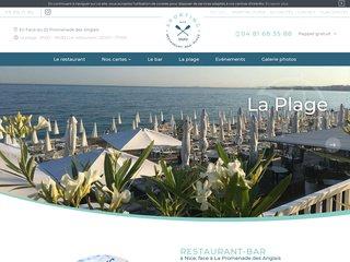 Rendez-vous au Sporting Plage, restaurant-bar avec plage privée à Nice