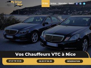 VTC Nice - Chauffeur privé avec My Driver Nice