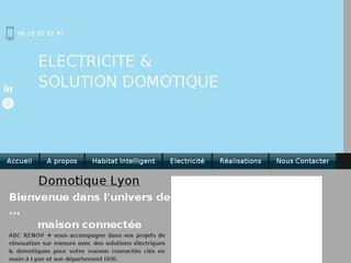 Solution Electrique et Domotique pour maison connectée