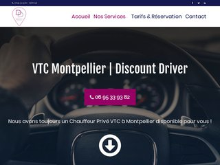 Chauffeur Privé à Montpellier avec Discount Driver