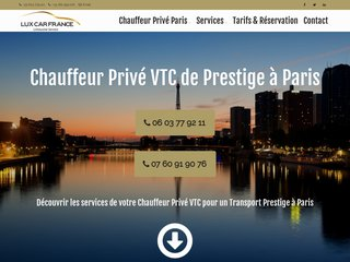 VTC - mode Prestige à Paris | Lux Car France