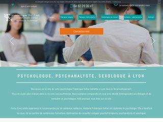 Frédérique Sultan : psychologue à Lyon