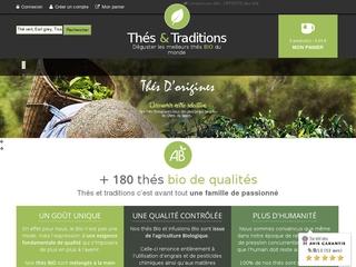 Thés et Traditions, le thé bio dans toute sa splendeur