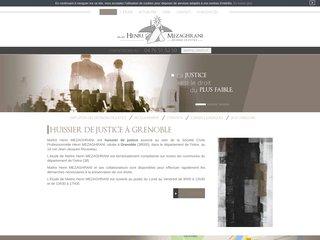 Etude d'huissier de justice à Grenoble