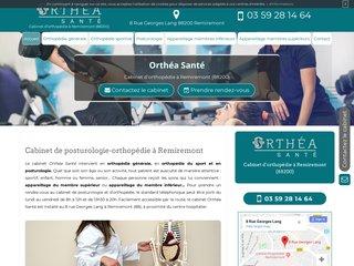 Posturologue à Remiremont, Orthéa Santé