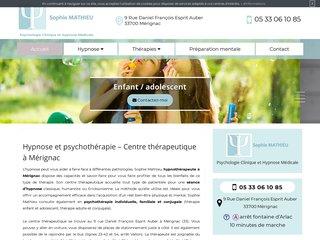 Hypnothérapeute à Mérignac - Sophie Mathieu