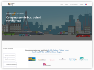 Tictactrip, comparateur de bus train et covoiturage
