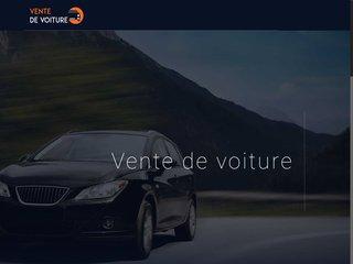 Site de vente des voitures