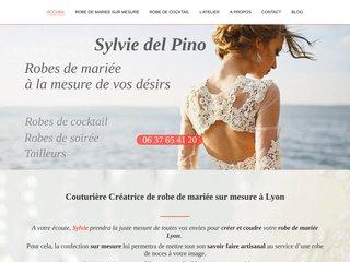 Sylvie création de robe de mariage et robe de cocktail sur mesure