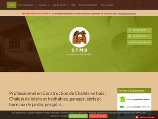 STMB Construction : Concepteur, fabriquant, monteur kits en bois