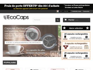 Capsules café rechargeables