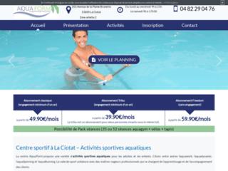 Centre de sport aquatique : activité pour bébé à Ciotat