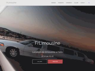 Location de limousines et voitures avec chauffeur à Paris