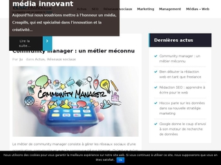 Webzine sur le webmarketing