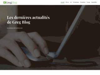 Greg Blog