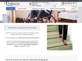 Location de matériel médical à Draguignan, Médical'Isle
