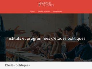 Préparation au concours d'entrée en sciences politiques