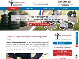 Réparation pneu crevé à Strasbourg
