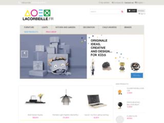La Corbeille : patere design