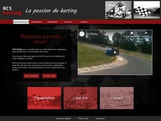 ACS Karting -  circuit de karting extérieur à Lisieux