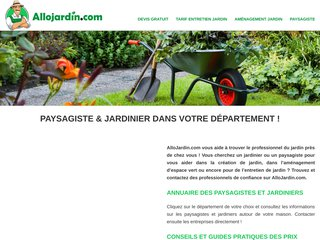 Allojardin : entretien et aménagement facilement